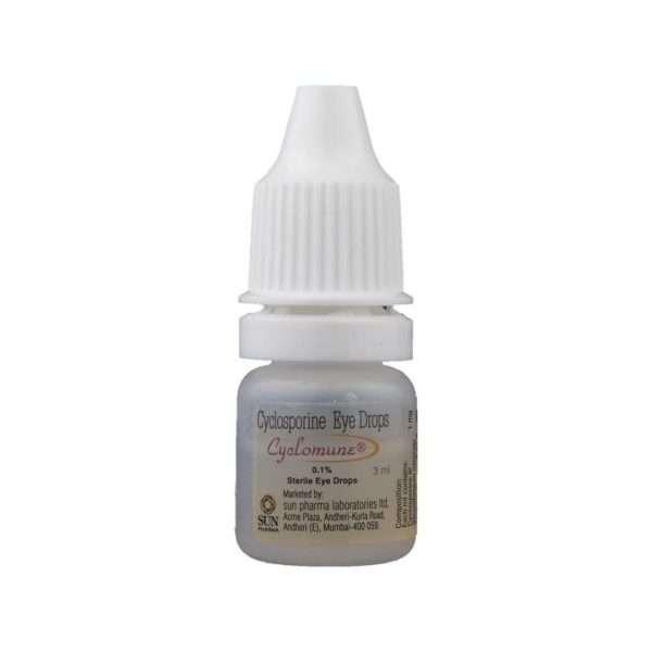 cyclomune eye drops cyclosporine 0 1 4