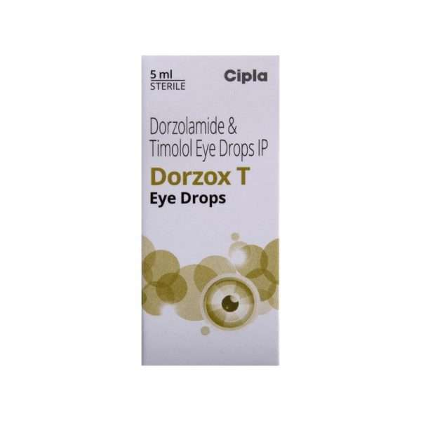dorzox t eye drops dorzolamide 2