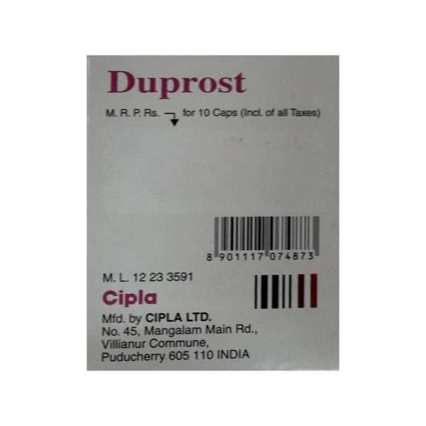 duprost tablet dutasteride 0 5mg 3