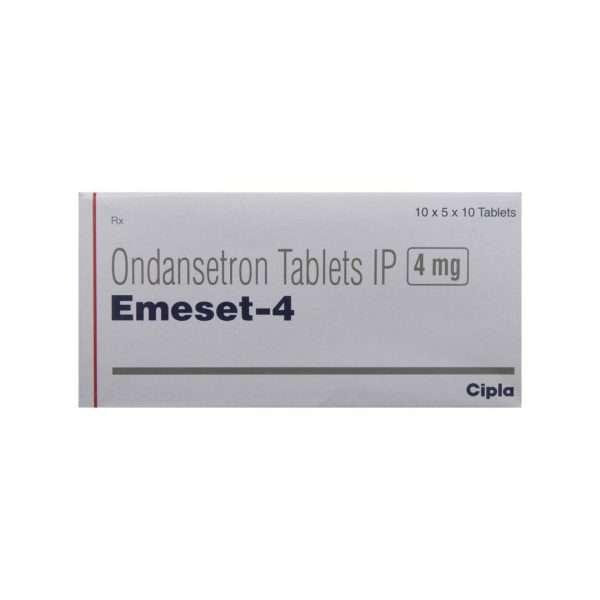 emeset tablet ondansetron 4mg 2