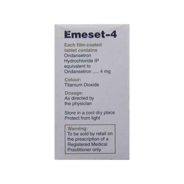 emeset tablet ondansetron 4mg 3