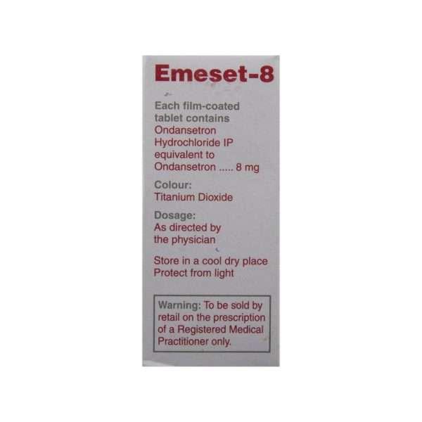 emeset tablet ondansetron 8mg 3