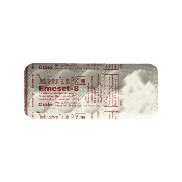 emeset tablet ondansetron 8mg 5