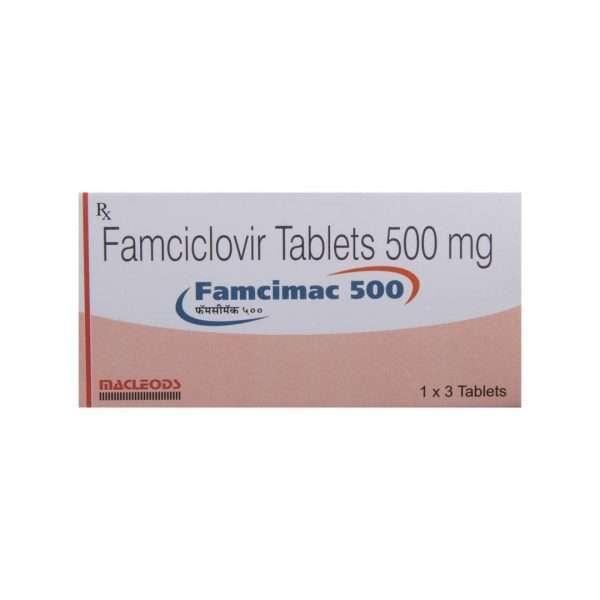 famcimac tablet famciclovir 500mg 2