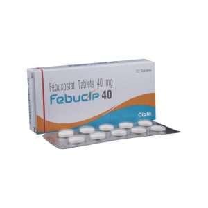 febucip tablet febuxostat 40mg 1
