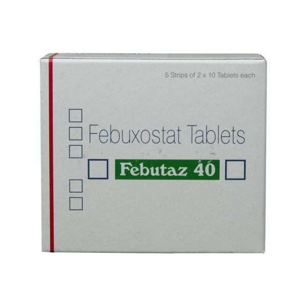 febutaz tablet febuxostat 40mg 2