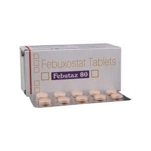 febutaz tablet febuxostat 80mg 1