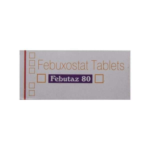febutaz tablet febuxostat 80mg 2