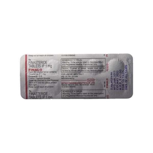 finalo tablet finasteride 1mg 5