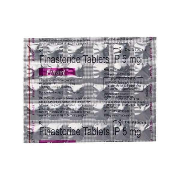 finast tablet finasteride 5mg 4