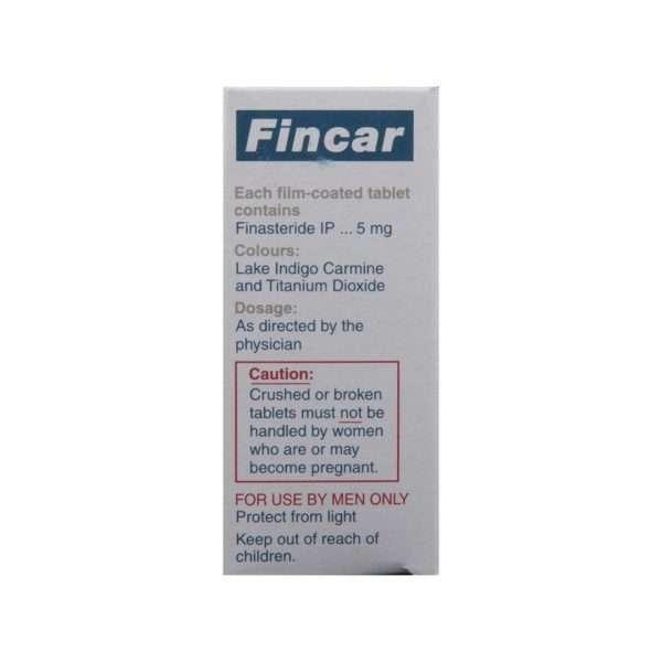 fincar tablet finasteride 5mg 3