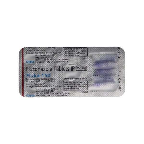 fluka capsule fluconazole 150mg 5