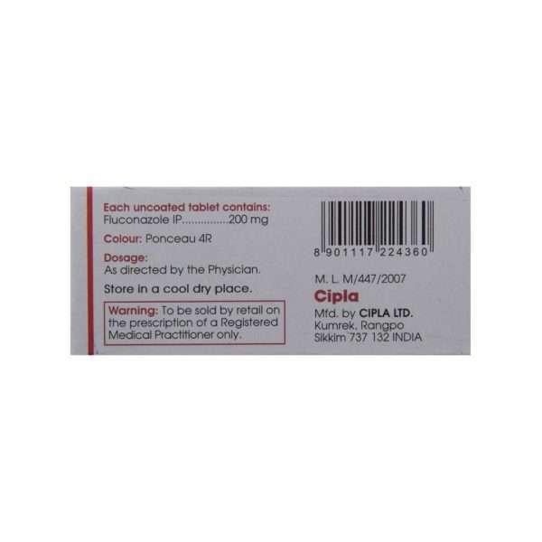 forcan tablet fluconazole 200mg 3