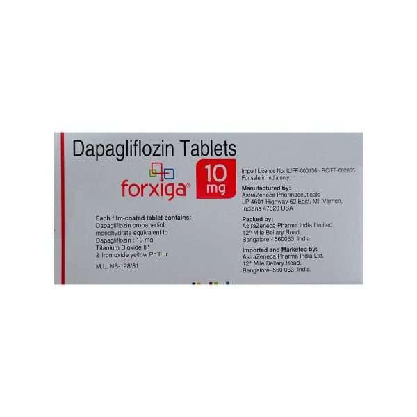 forxiga tablet dapagliflozin 10mg 2