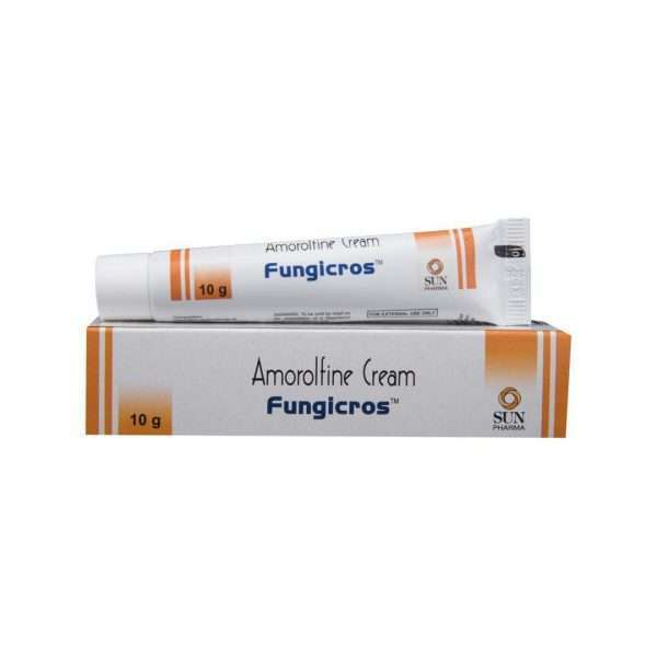 fungicros cream amorolfine 1