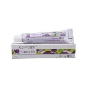 herpex cream acyclovir 5 1