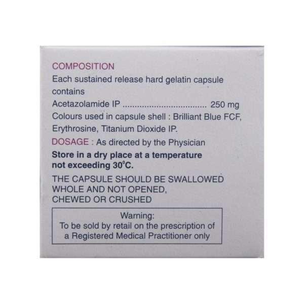 iopar sr capsule acetazolamide 250mg 3