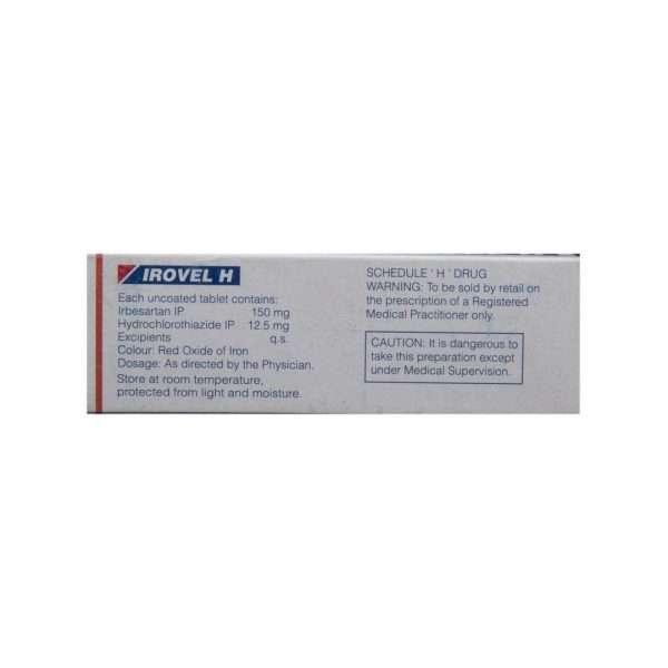 irovel h tablet irbesartan 3
