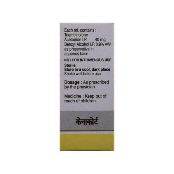 kemacort injection triamcinolone 40mg 3