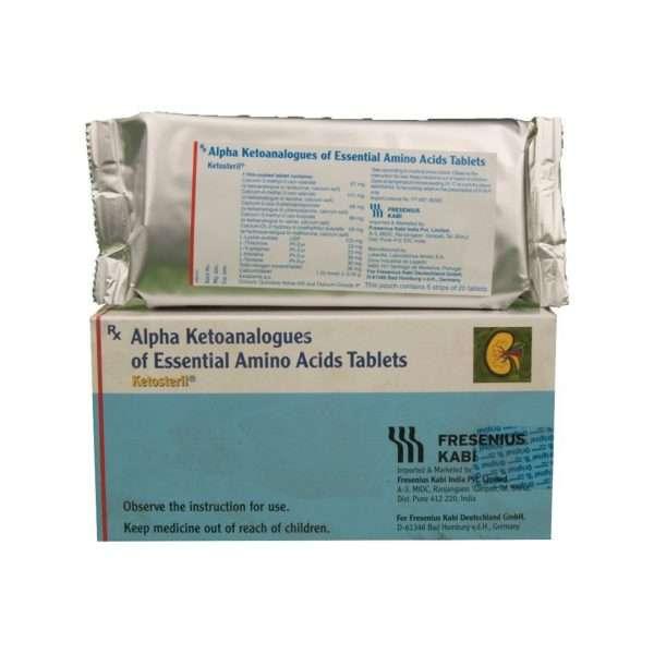 ketosteril tablet amino acids 3
