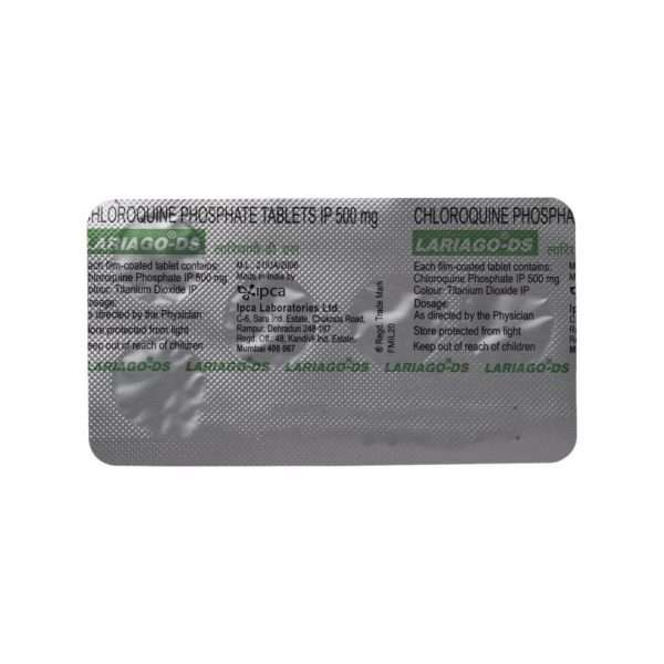 lariago ds tablet chloroquine 500mg 5