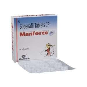 manforce tablet sildenafil 50mg 1