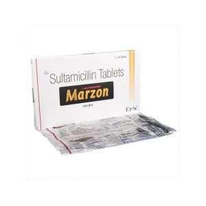 marzon tablet sultamicillin tosilate 375mg 1