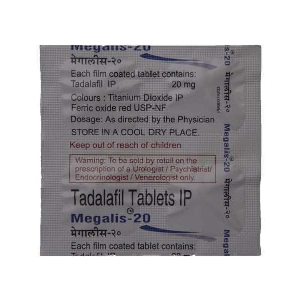 megalis tablet tadalafil 20mg 4