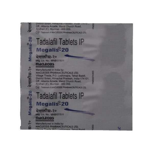 megalis tablet tadalafil 20mg 5