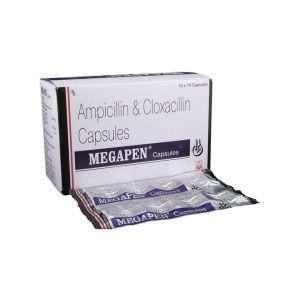 megapen capsule ampicillin 1