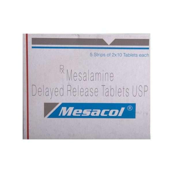 mesacol tablet mesalazine 400mg 2