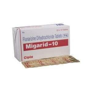 migarid tablet flunarizine 10mg 1
