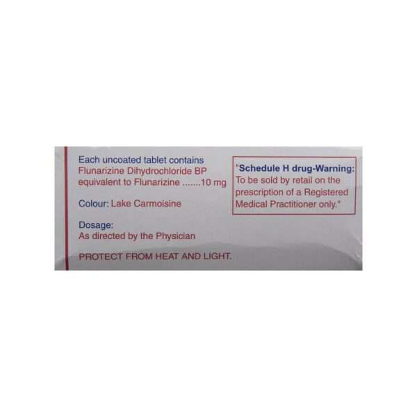 migarid tablet flunarizine 10mg 3