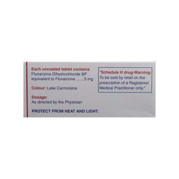migarid tablet flunarizine 5mg 3