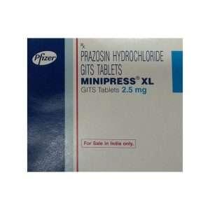minipress xl tablet prazosin 2 5mg 1