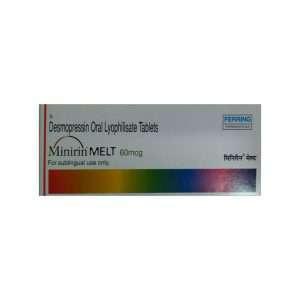 minirin melt tablet desmopressin 60mcg 1