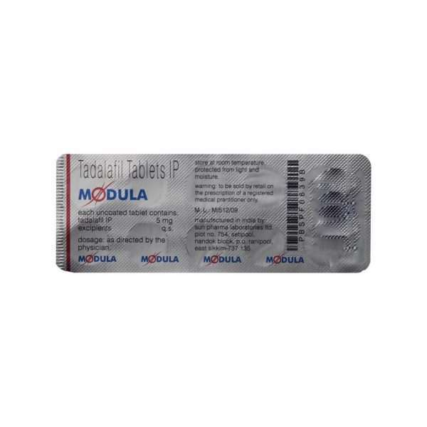 modula tablet tadalafil 5mg 5