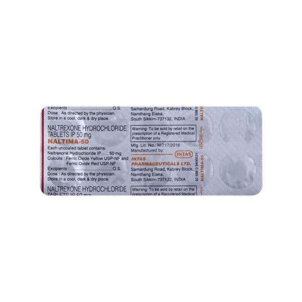 naltima tablet naltrexone 50mg 5