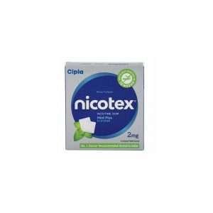 nicotex gum nicotine 2mg 1
