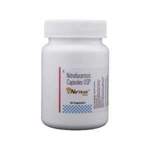 niftran capsule nitrofurantoin 100mg 1