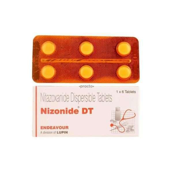 nizonide dt tablet nitazoxanide 200mg 1