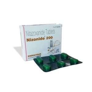 nizonide tablet nitazoxanide 200mg 1