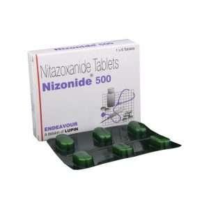 nizonide tablet nitazoxanide 500mg 1