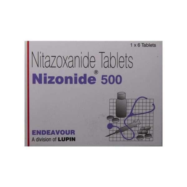 nizonide tablet nitazoxanide 500mg 2