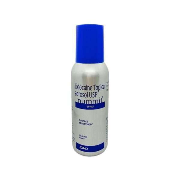 nummit spray lidocaine 15 1