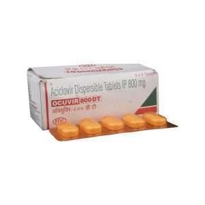ocuvir dt tablet acyclovir 800mg 1