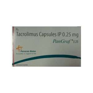 pangraf capsule tacrolimus 0 25mg 1