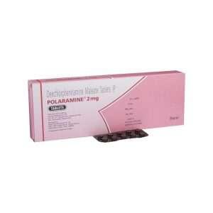 polaramine tablet dexchlorpheniramine 2mg 1