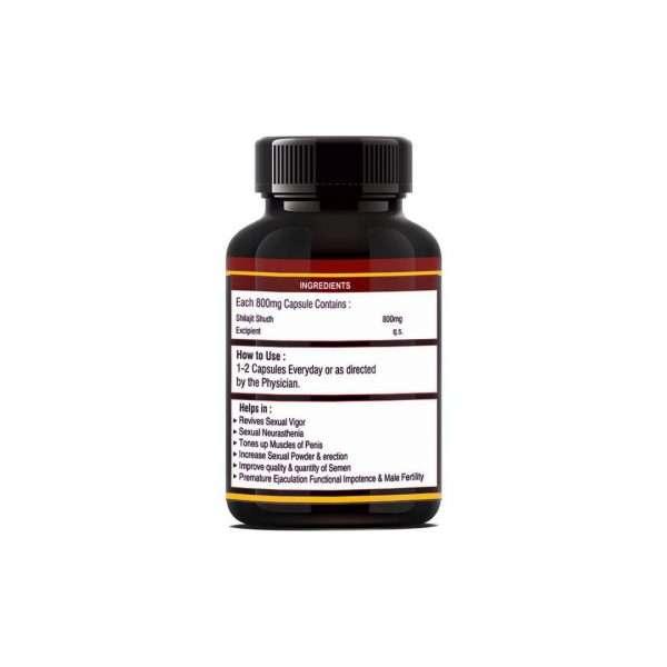 shilajit gold capsule herbal 3