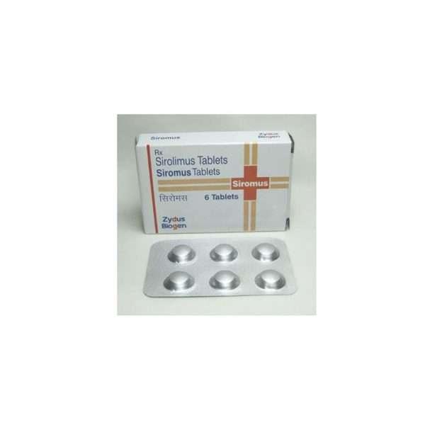 siromus tablet sirolimus 1mg 1